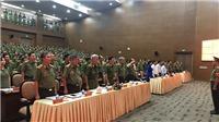 Công an TPHCM công bố các quyết định của Bộ trưởng Bộ Công an về tổ chức cán bộ