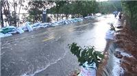 Nước trên các sông dâng cao làm ngập lụt nghiêm trọng nhiều nơi ở Thanh Hóa