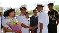 Tàu khu trục Hải quân Ấn Độ thăm Việt Nam