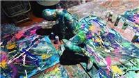 VIDEO: Bật mí tiết mục của họa sĩ Trần Lâm Bình chắc chắn sẽ 'kinh động' America's Got Talent