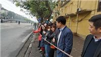 Cận cảnh người dân Hà Nội đón Chủ tịch Triều Tiên Kim Jong-un