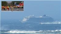 VIDEO: Giải cứu 1.300 hành khách mắc kẹt ngoài khơi Na Uy