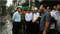 CẬP NHẬT Vụ hoả hoạn tại Trung Văn (Hà Nội) khiến 8 người chết: Khởi tố vụ án 'Vi phạm quy định về phòng cháy chữa cháy'