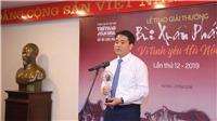Thông cáo Báo chí Giải Bùi Xuân Phái - Vì Tình yêu Hà Nội lần 12 - 2019
