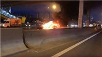 Xe điện của Tesla bốc cháy tại Nga