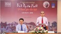 Giải Bùi Xuân Phái – Vì tình yêu Hà Nội lần 12 – 2019: PGS.TS.NGƯT Nguyễn Thừa Hỷ nhận Giải thưởng Lớn
