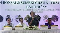 Lần đầu tiên Việt Nam đăng cai Lễ hội Bonsai và Suiseki châu Á - Thái Bình Dương
