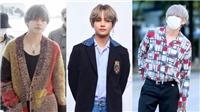 Thời trang như V BTS: Tung tăng diện váy đỏ của chị em lên sàn diễn