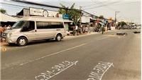 Tai nạn liên hoàn trên Quốc lộ 91 khiến 1 người tử vong, 4 người bị thương