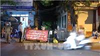 Hà Nội phong tỏa khu vực ngõ 466 phố Hoàng Hoa Thám - nơi ở của cụ ông có kết quả xét nghiệm ban đầu dương tính với virus SARS-CoV-2