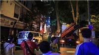 Vụ sập giàn giáo tại phố Nguyễn Công Trứ (Hà Nội): Tạm dừng thi công công trình, điều tra nguyên nhân