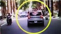 Hà Nội: Tạm giữ hình sự lái xe hất chiến sỹ Công an lên nóc capo