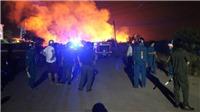 TP.HCM: Khu nhà trọ cháy lớn trong đêm khiến một người tử vong