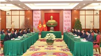 Tổng Bí thư, Chủ tịch nước Nguyễn Phú Trọng và Tổng Bí thư, Chủ tịch nước Trung Quốc Tập Cận Bình tiến hành điện đàm