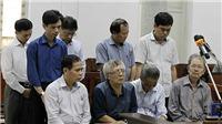 Xử vụ vỡ đường ống nước sông Đà: Đề nghị mức án với 9 bị cáo