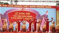 Khôi phục nhiều nghi lễ truyền thống tại lễ hội Tản Viên Sơn Thánh