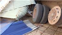 Bình Phước: Kinh hoàng vụ xe tải chở mì mất phanh, tuột dốc, đâm sập nhà dân