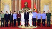 Chủ tịch nước Trần Đại Quang trao quyết định bổ nhiệm Phó Viện trưởng Viện KSND tối cao