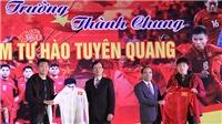 VIDEO: Tuyển thủ U23 Lương Xuân Trường, Thành Chung lại nói lời xin lỗi, hứa sẽ đền đáp các CĐV