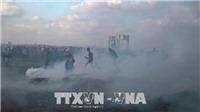 Không quân Israel đánh trúng 10 mục tiêu tại Dải Gaza
