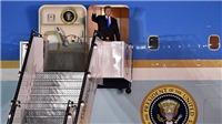 Chuyên cơ Không lực Một của Tổng thống Trump đến Singapore