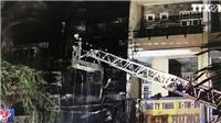 VIDEO: Cháy cửa hàng 5 tầng tại phố lồng đèn Quận 5