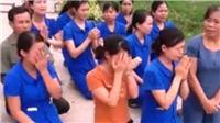 'Nóng' vụ giáo viên quỳ xin được đi dạy, bắt đối tượng giả danh công an giả kích động gây rối