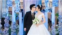 Á hậu Tú Anh và Gia Lộc trao nụ hôn say đắm trước hàng nghìn khách mời