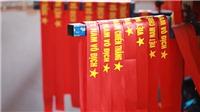 Thăm xưởng sản xuất băng rôn, cờ Tổ quốc trong 'sức nóng' U23 Việt Nam