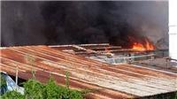 Thành phố Hồ Chí Minh: Cháy lớn thiêu rụi hàng trăm m2 nhà xưởng tại Quận 12
