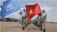 Hình ảnh đầu tiên của chiến sĩ Việt Nam trong lực lượng gìn giữ hòa bình của LHQ tại Nam Sudan