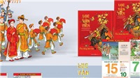 Ra mắt bộ lịch bloc 365 ngày chủ đề 'Lục Vân Tiên'
