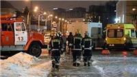 Nổ khí ga ở miền Tây nước Nga khiến hàng chục người bị thương