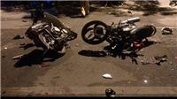 Va chạm giữa hai xe máy làm 2 người chết, 1 người bị thương