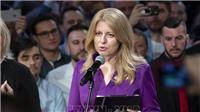 Slovakia có nữ tổng thống đầu tiên
