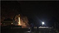 Quảng Ninh: Đã tìm thấy thi thể công nhân bị vùi lấp sau vụ nổ mìn khai thác đá