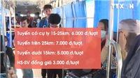 VIDEO: Giá vé xe buýt TP.HCM tăng từ 1/5