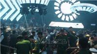Phát hiện gần 200 thanh niên sử dụng ma túy trong quán bar