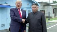 Chùm ảnh: Những khoảnh khắc lịch sử khi Tổng thống Trump bước vào lãnh thổ Triều Tiên