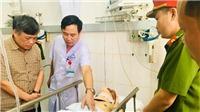 Thượng úy CSGT Nguyễn Trọng Quý đã qua cơn nguy kịch