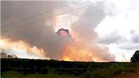 Nổ kho đạn tại Nga: Thương vong tăng, hàng nghìn người phải đi sơ tán