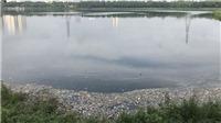 Hà Nội: Hồ Yên Sở cá chết nổi, trôi vào bờ bốc mùi hôi thối