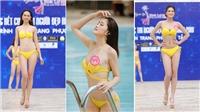 Mãn nhãn phần bikini nóng bỏng top 15 thí sinh vòng Chung kết Người đẹp Hoa Lư 2019