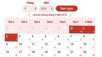 Lịch nghỉ 2/9: Lễ Quốc khánh được nghỉ bao nhiêu ngày?