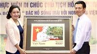 Phát hành bộ tem '50 năm thực hiện Di chúc Chủ tịch Hồ Chí Minh 1969-2019'