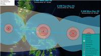 Philippines sơ tán người dân phòng tránh bão Kammuri