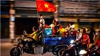 CHÙM ẢNH: Những màn ăn mừng ấn tượng sau tấm HCV SEA Games lịch sử của U22 Việt Nam