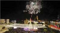Hàng nghìn người đổ về thành phố Bethlehem để ăn mừng Giáng sinh