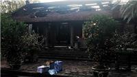 Hà Nội: Cháy toàn bộ hệ thống đồ thờ Tam bảo chùa Cự Đà