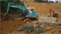 Cơ bản hoàn thành đắp đập và nắn dòng chảy suối Rào Trăng 3